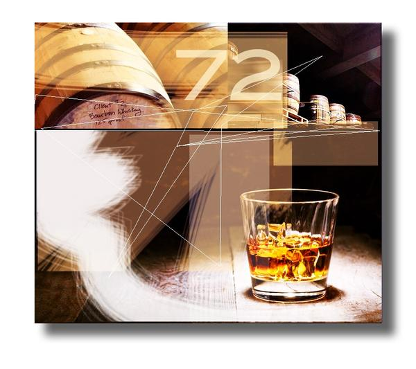 Whiskey Bar - Hospitality  - Abstract Art