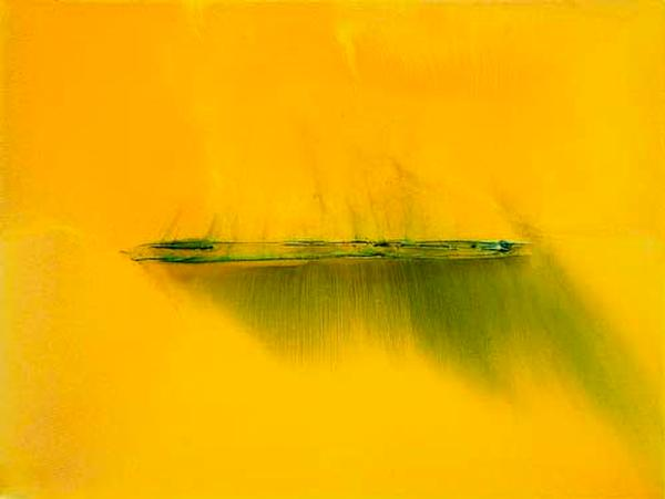 Yellow Line - Hospitality - Abstract Art