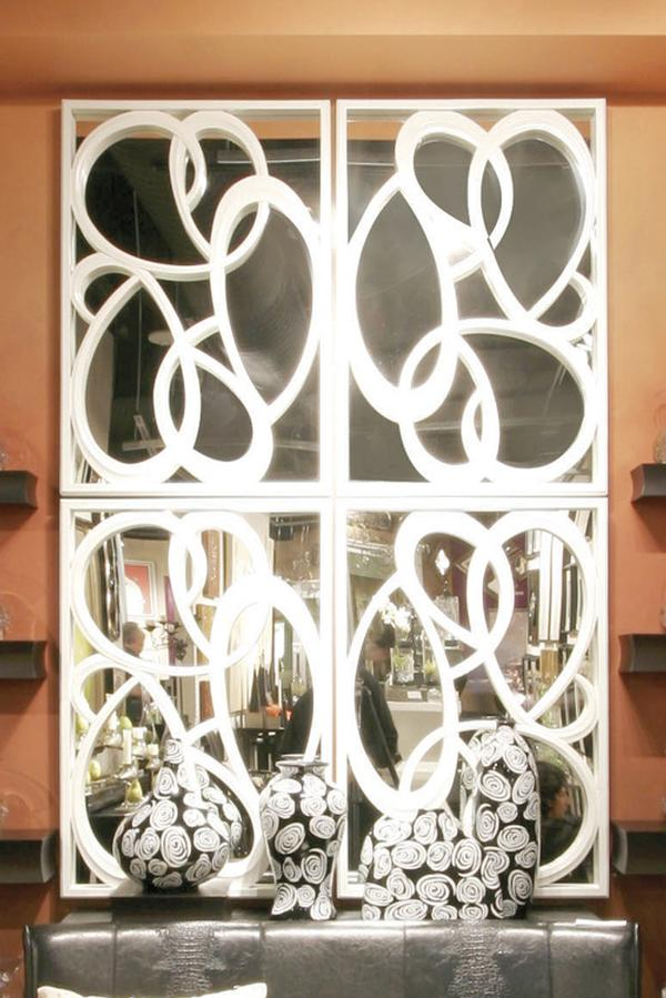 Calligraphy Mirror Combination - Wall Sculpture  -