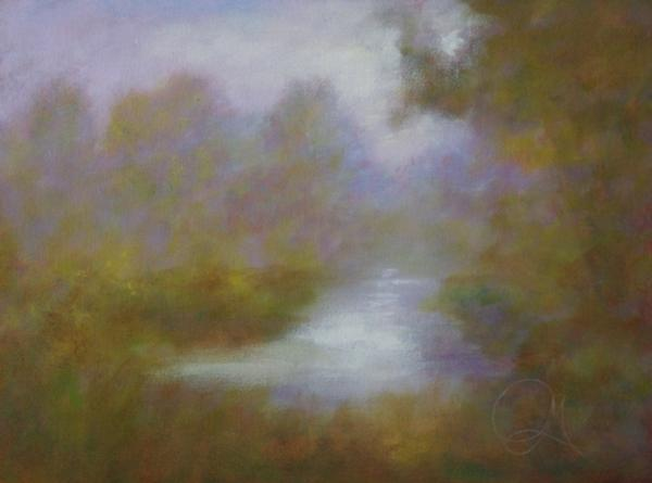 Cool Morning Air at Sunrise - Hospitality - Landscape Art
