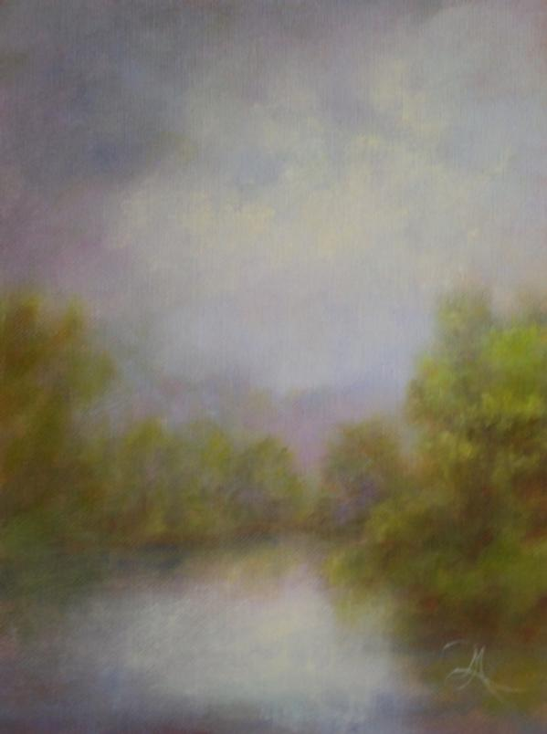 Floating on Calm - Hospitality - Landscape Art