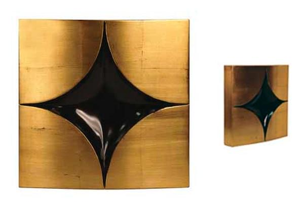 Convex Diamond - Wall Sculpture  -