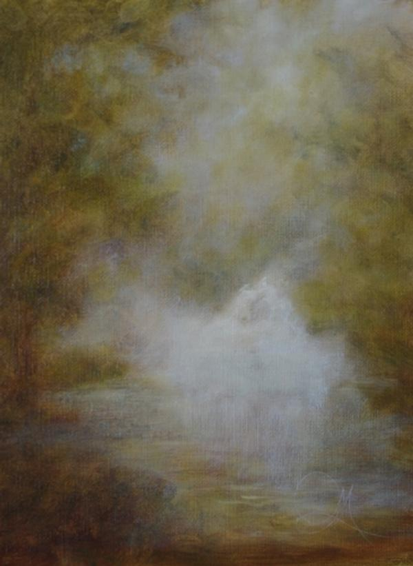 I Saw the Dream Wash Thru - Hospitality - Landscape Art