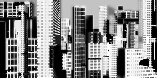 Miami BW - Hospitality  - Abstract Art