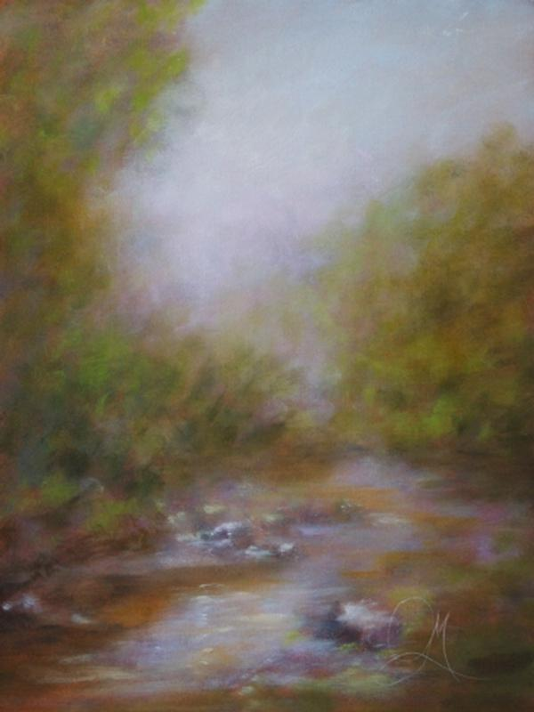 Mist and the Creek - Hospitality - Landscape Art