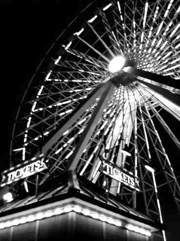 Ferris Wheel - Hospitality - Abstract Art