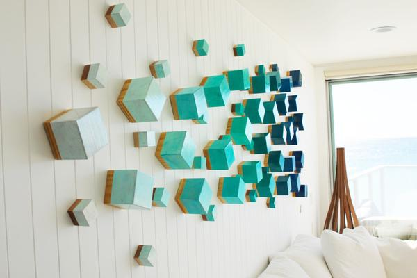 Ocean Breeze - Sculpture - Wall Sculpture